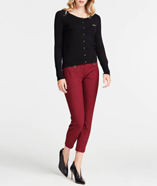 cardigan donna in viscosa Guess-2