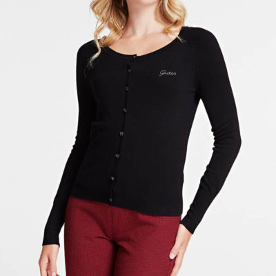 cardigan donna in viscosa Guess