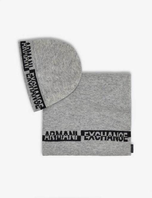 completo cappello e sciarpa Armani da uomo-2