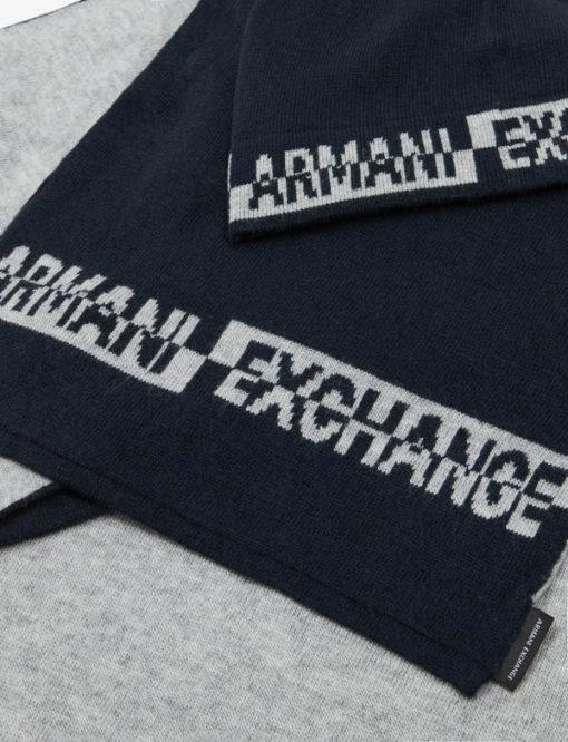 completo cappello e sciarpa Armani da uomo-5