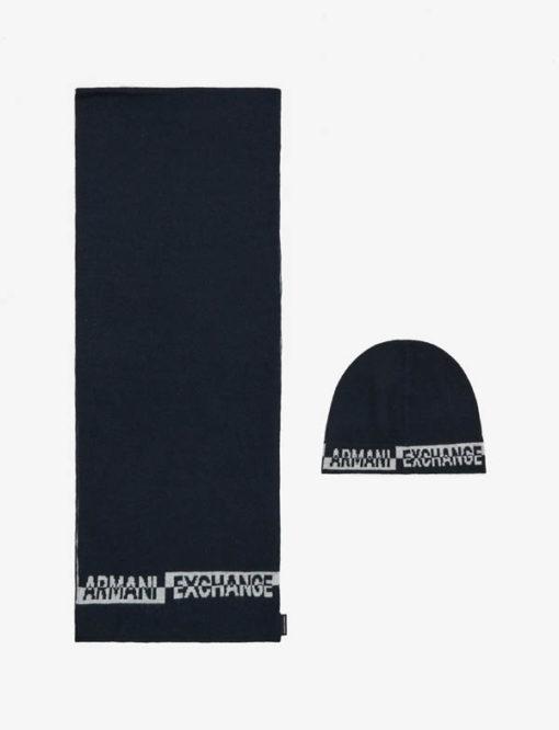 completo cappello e sciarpa Armani da uomo-3