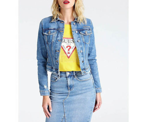 Giubbotto GUESS jeans donna