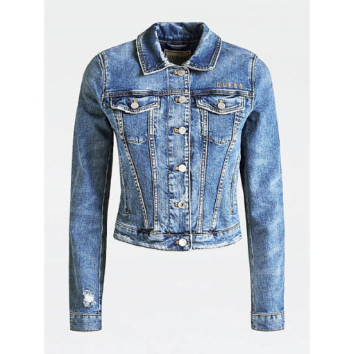 Giubbotto GUESS jeans donna-2