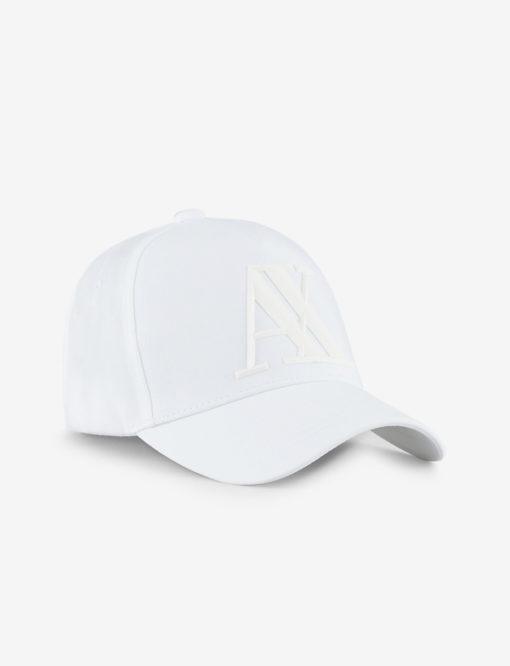 ARMANI EXCHANGE cappello da uomo bianco