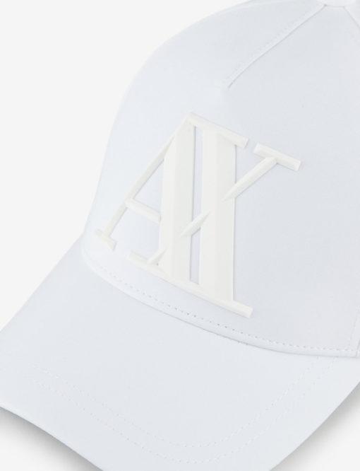 ARMANI EXCHANGE cappello da uomo bianco-2