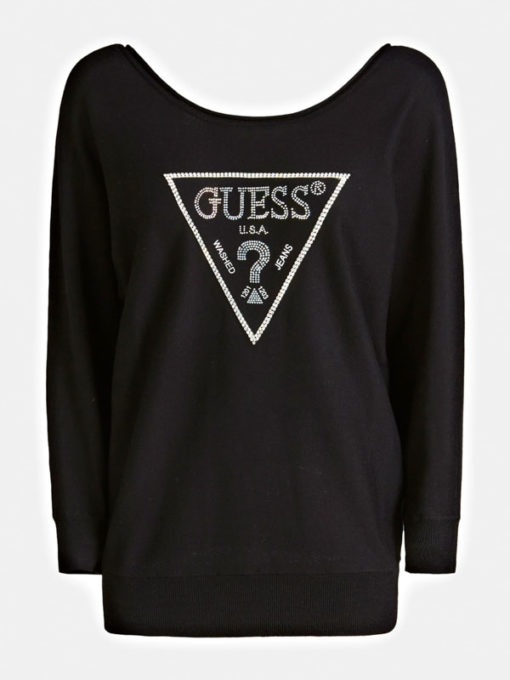 GUESS maglia regular fit misto viscosa-5