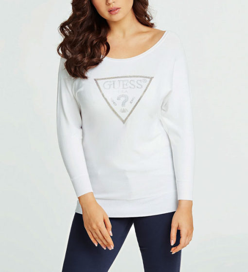 GUESS maglia regular fit misto viscosa