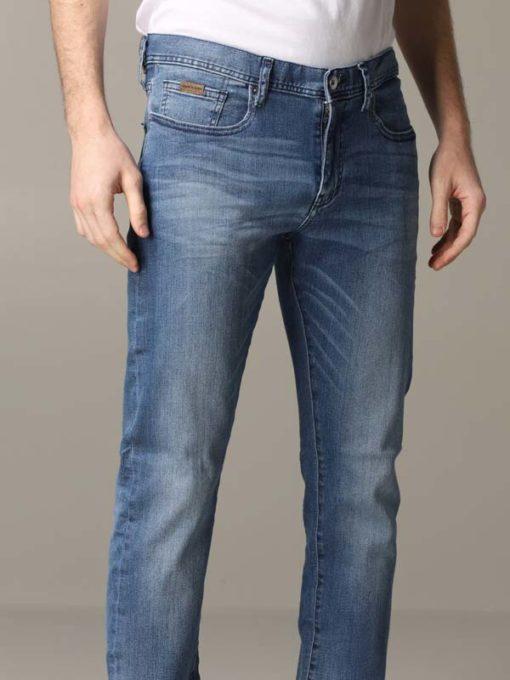 Jeans colore medio Armani Exchange da uomo-3