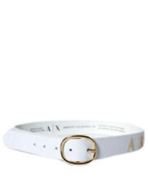 Cintura donna Armani Exchange con scritta ed applicazioni-3