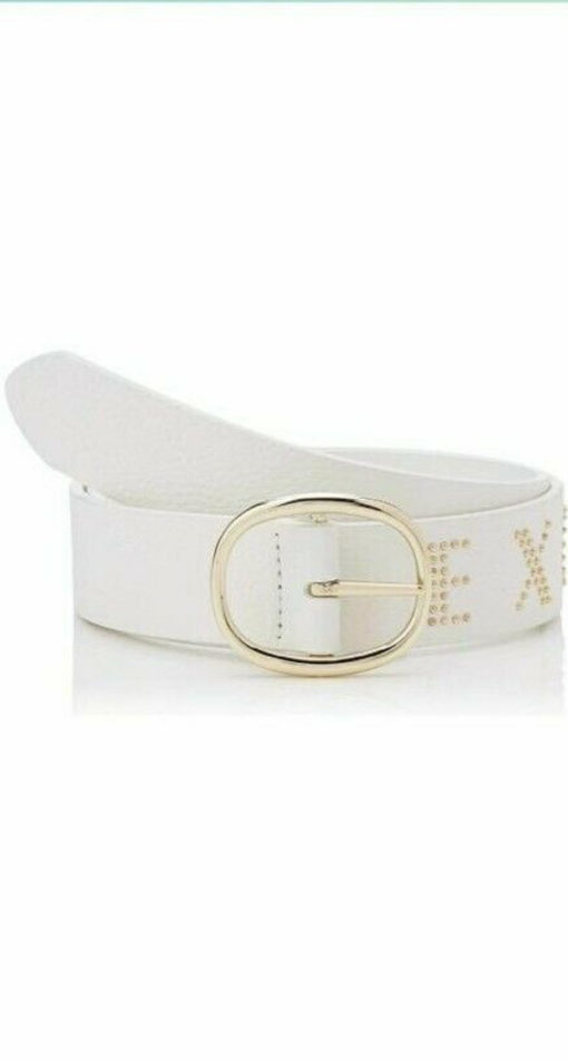Cintura donna Armani Exchange con scritta ed applicazioni-1