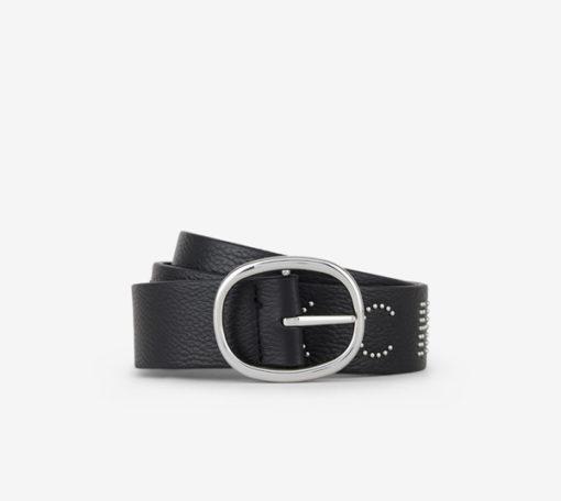 Cintura donna Armani Exchange con scritta ed applicazioni-5
