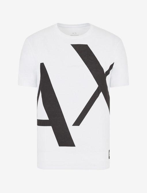 T-shirt Armani uomo con macro-logo AX-6