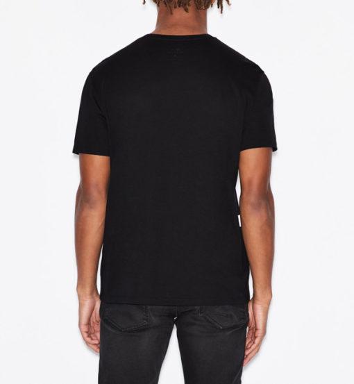 T-shirt Armani uomo con macro-logo AX-8