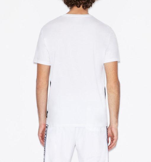 T-shirt Armani uomo con macro-logo AX-9