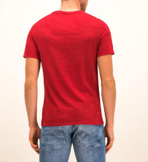 Maglietta mezza manica con taschino GUESS-5