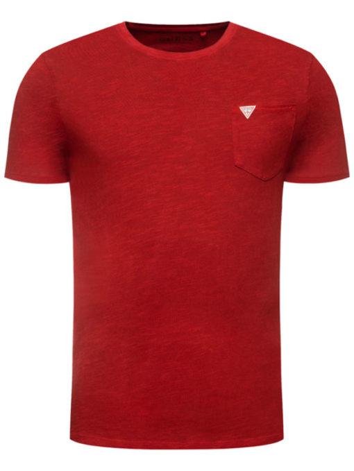 Maglietta mezza manica con taschino GUESS-3