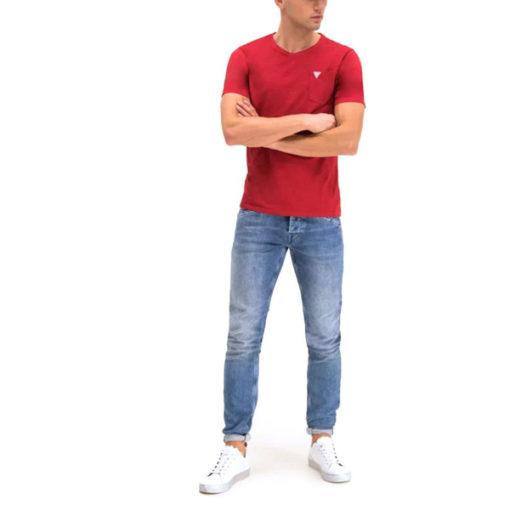 Maglietta mezza manica con taschino GUESS-6