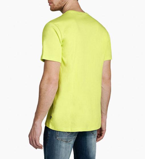 Maglietta in cotone uomo GUESS con stampa-5