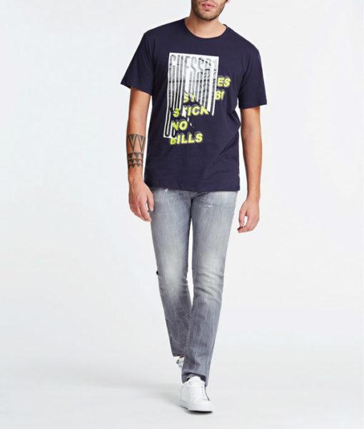 Maglietta in cotone uomo GUESS con stampa-2