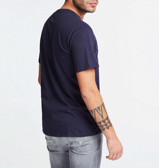 Maglietta in cotone uomo GUESS con stampa-4