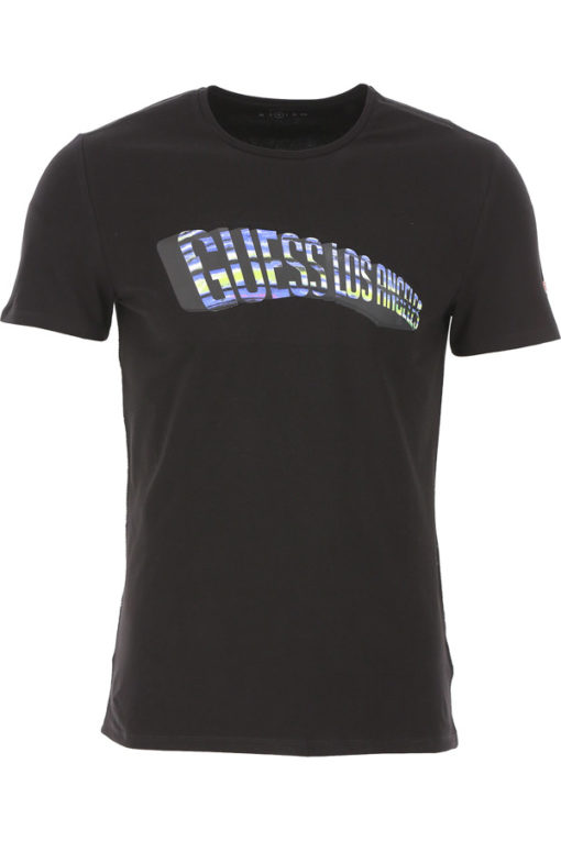 GUESS t-shirt stampa frontale uomo-2