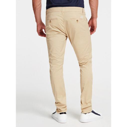 GUESS pantalone skinny da uomo beige-3