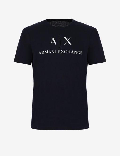 Armani t-shirt con logo circolare da uomo-3