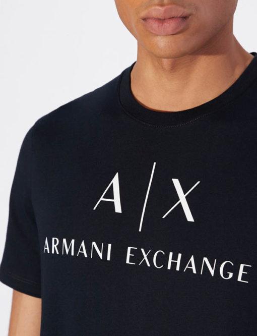 Armani t-shirt con logo circolare da uomo-1