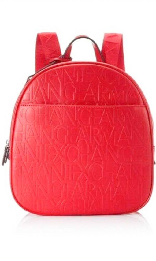 zaino da donna con scritta logo Armani Exchange