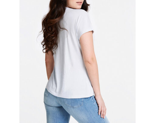GUESS t-shirt con stampa e applicazioni regular fit-4