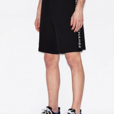 Armani Exchange pantaloncino uomo con logo laterale