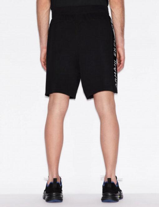 Armani Exchange pantaloncino uomo con logo laterale-2