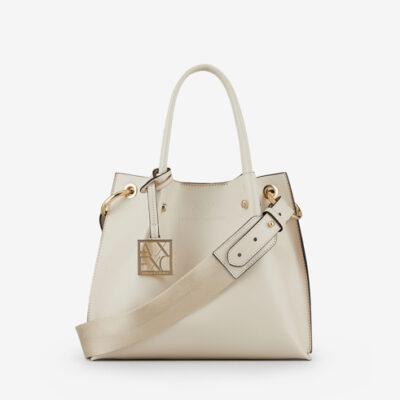 ARMANI EXCHANGE borsa donna con tracolla e charm logato-3