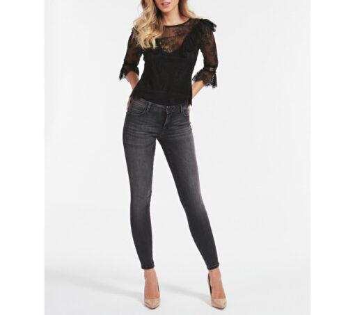 GUESS jeans nero elasticizzato da donna-2