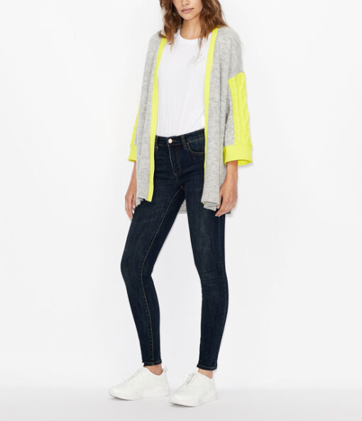 ARMANI jeans donna push-up con gamba stretta -2