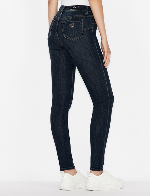 ARMANI jeans donna push-up con gamba stretta -1