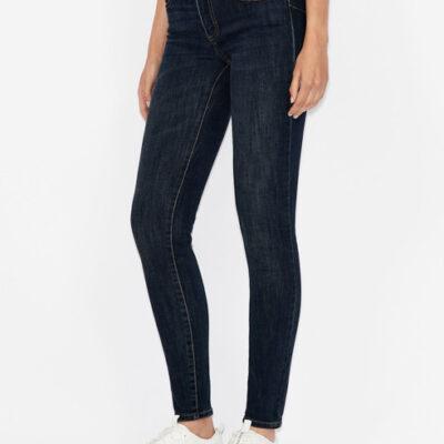 ARMANI jeans donna push-up con gamba stretta