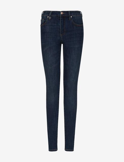 ARMANI jeans donna push-up con gamba stretta -4