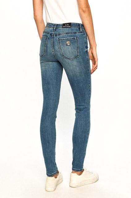 Jeans Armani Exchange donna chiaro super skinny-1