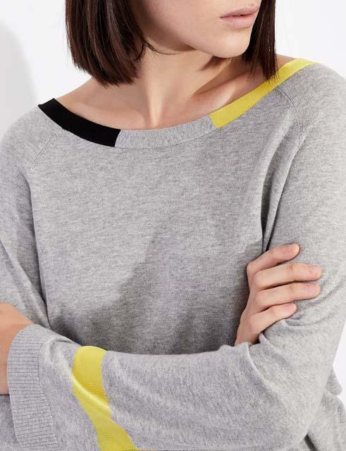 ARMANI EXCHANGE maglia donna in cotone e cashmere-4