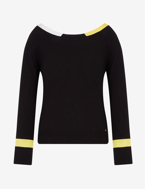 ARMANI EXCHANGE maglia donna in cotone e cashmere-7