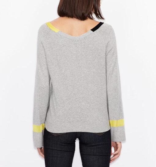 ARMANI EXCHANGE maglia donna in cotone e cashmere-2