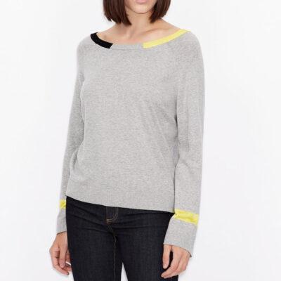 ARMANI EXCHANGE maglia donna in cotone e cashmere