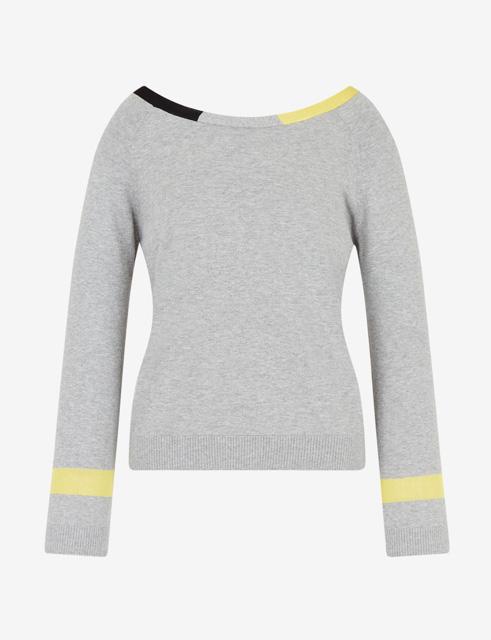 ARMANI EXCHANGE maglia donna in cotone e cashmere-6