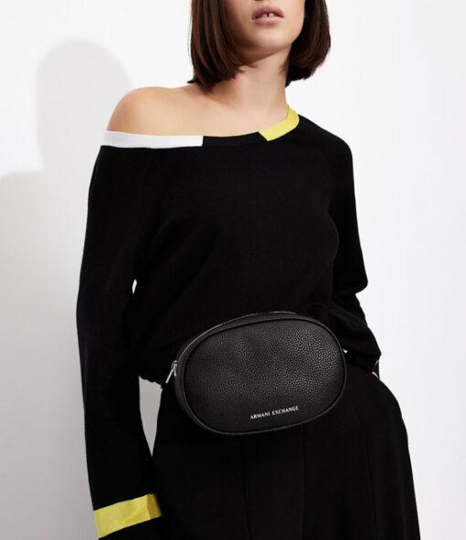 ARMANI EXCHANGE maglia donna in cotone e cashmere-8