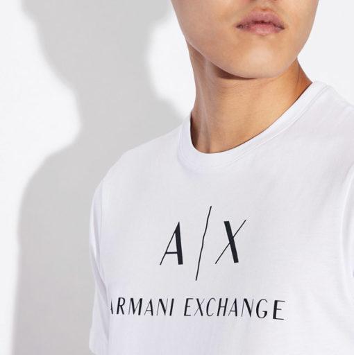 Armani t-shirt con logo da uomo-9