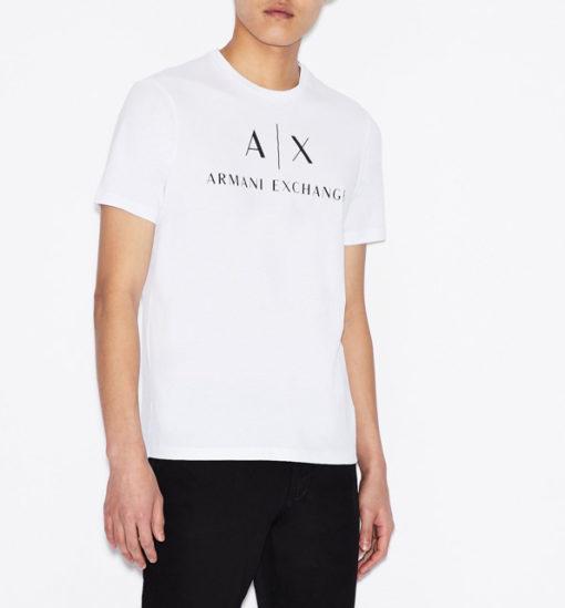 Armani t-shirt con logo da uomo-6