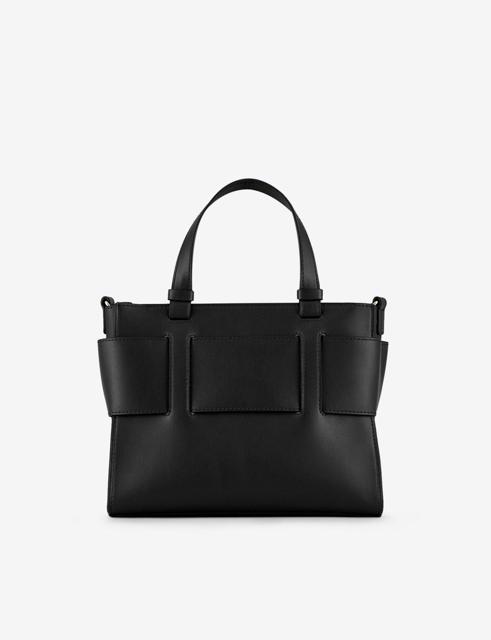 ARMANI EXCHANGE borsa da donna nera a bauletto con zip-2