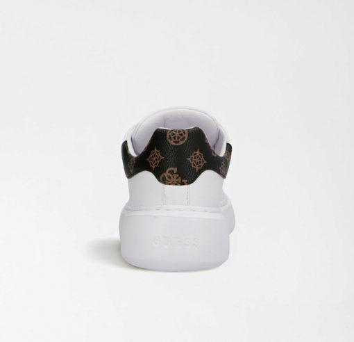 GUESS scarpa sportiva bianca da donna con logo 4G-1