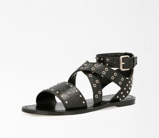 GUESS sandalo donna basso legato alla caviglia-1